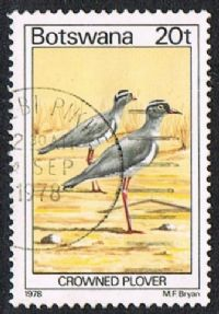 Botswana SG419 1978 Birds 20t good/fine used